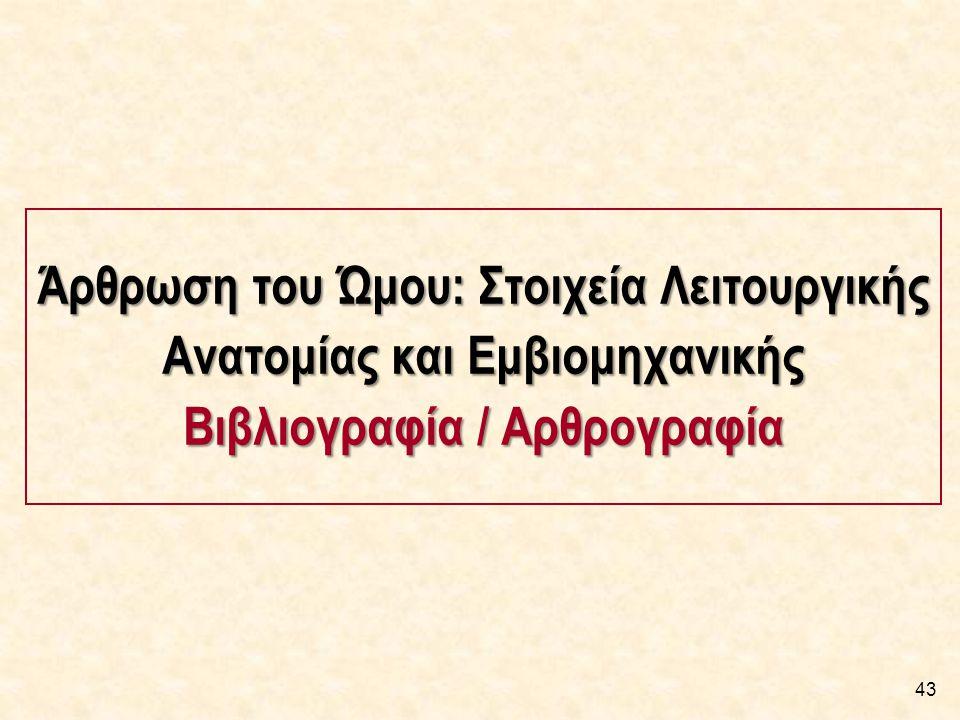 Βιβλιογραφία [1/2] Ελληνική Βιβλιογραφία: